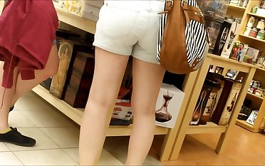 CANDID TEEN Jam-packed with SHORTS 9
