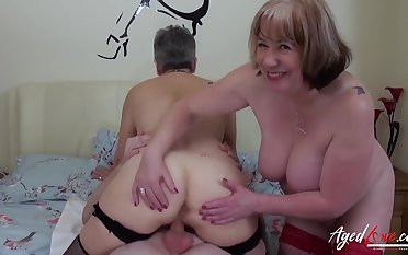 AgedLovE Hardcore Fuck with Huge Adult Boobs