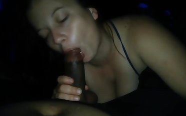 Thick white girl savage sloppy suck and stroke on turn this way black gumshoe