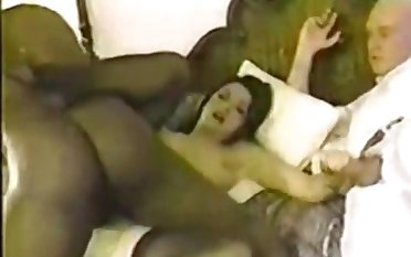 Couple Invites Black Crap In Tourist house Room - Retro Cuckold