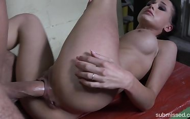 Meaty cunt getting stretched out nicely by her master's cock