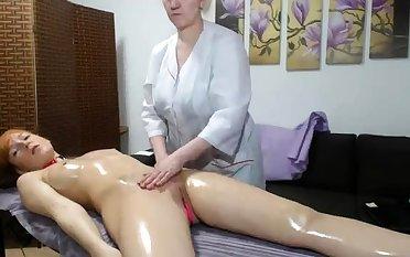 OldNanny Old mature lesbian and mature woman masturbate