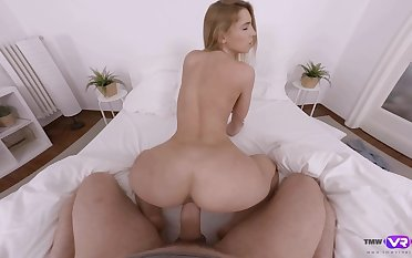 Salacious chick Lulu Love gives her head and gets fucked on POV camera