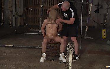 Gay bondage pleasures with Sebastian Kane and Daniel Hausser