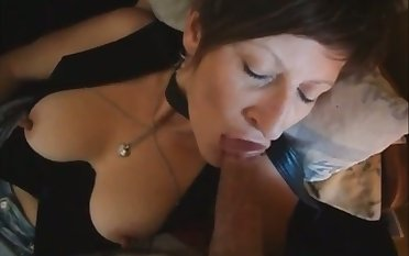 Short haired mature whore loves to suck a dick and she is be composed of just applicable