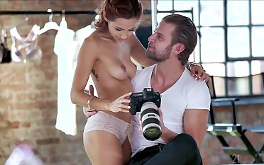 Balls deep anal fucking with HOT lingerie model Veronica Leal