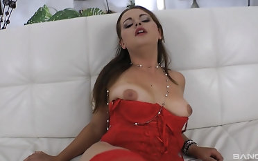 There is nothing better for Svetlana Morich than playing with a cock