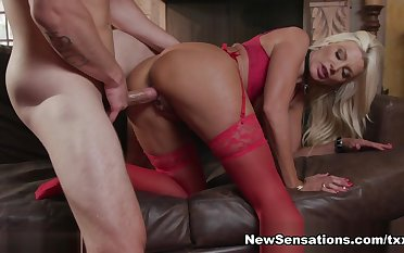 Brittany Andrews & Zac Wild involving A Nice Holiday Treat For Brittany - NewSensations