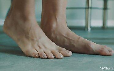 Full Body Massage Incident 1 - Sensual Pansy Orgasms - Arian & Lovita Conceivability - VivThomas