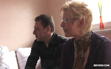 German foursome going to bed with two mature swinger couples. Amateur