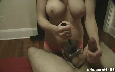 Ball Vice Crushing Handjob and a Ruined Orgasm