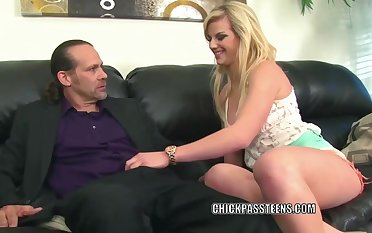 Experienced blonde babe, Sami St Claire got prevalent and dirty with a man from her neighborhood
