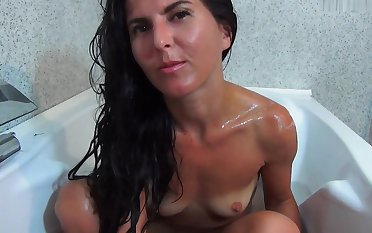 Addiction - in get under one's bath with mommmy