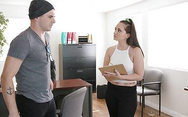 Nathan Bronson enjoys fucking seductive masseuse Gia Paige after nuru rub-down