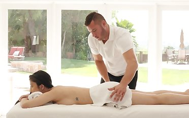 A consummate pleasure for this Asian to receive more than solely massage