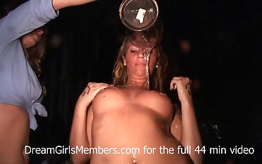 Farmers Daughters Get Naked In Country Bar Wet T-Shirt Contest - DreamGirlsMembers