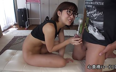 Silly xxx video Handjob wait for show