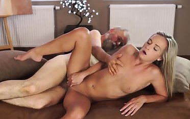 Old hairy cunt and grown-up dildo berating hd Lustful