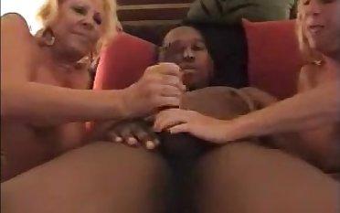 Two hot doyenne ladies enjoying bbc