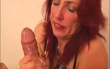 Hot milf making cum a big dick and clean wholeness