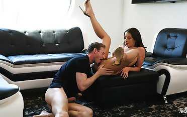 Hard-bodied Lana Rhoades gives a gent everything he desires