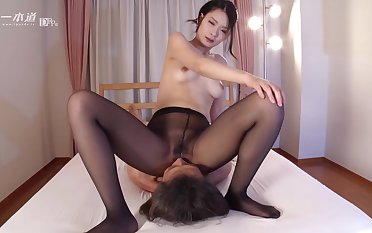 Ako Nishino face sitting - japan jav uncensored pantyhose nylon handjob pale