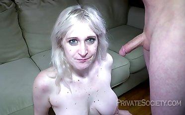 busty blonde amateur