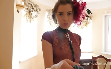 Kate Chromia - Precise Cute Slim Teen Girl Lana At Home