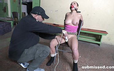 Gagged slave cookie is ready for even more voluptuous corrigendum