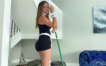Mexican maid, Havana Bleu is steadily having fuck-a-thon with her employer, in the interest he always makes her jizz