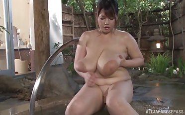Busty Asian Yuuki likes to play all about opprobrious sex games in the repair to